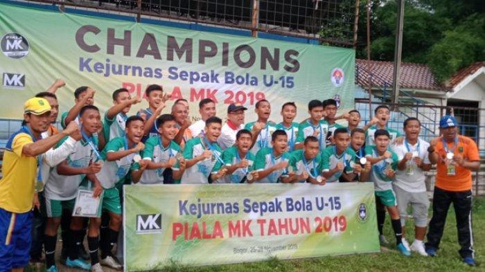 Tim Riau U-15 Juara Kedua Kejurnas Sepakbola U-15 Tahun 2019 di Bogor
