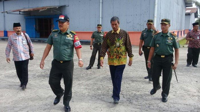 Tim Sergap Mabes TNI AD Sidak di Gudang Bulog Dumai