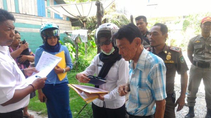 Razia di Jalan Kartini Kepulauan Meranti, Tim Terpadu Temukan 4 Bangunan Tak Kantongi IMB