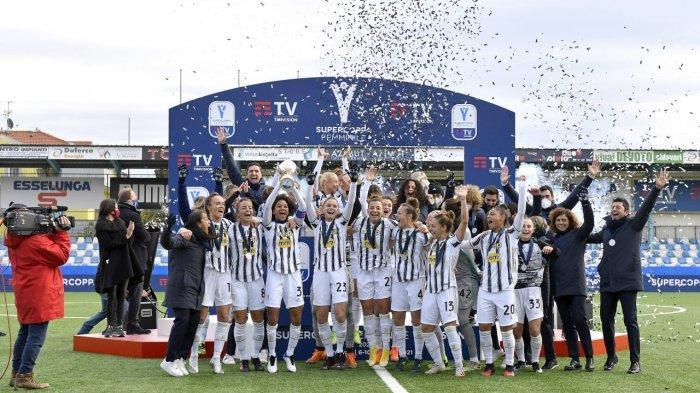 Saat Pasukan Pirlo Terseok-Seok, Tim Wanita Juventus Raih Gelar Scudetto Liga Italia Perempuan