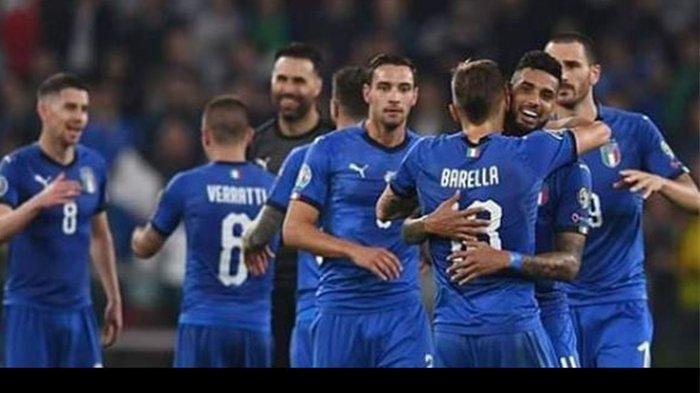Hasil dan Cuplikan Gol Italia vs Armenia, Rekor 9 Gol Tim Azzurri di Kualifikasi Piala Eropa 2020