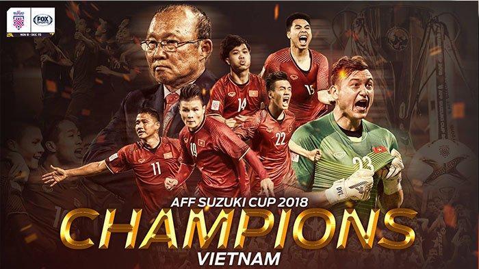 Vietnam Juara Piala AFF Suzuki Cup 2018 Usai Tekuk Harimau Malaya dengan Skor 1-0