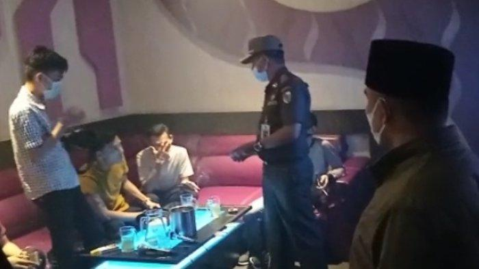 Tempat Hiburan Malam di Pekanbaru Lewati Jam Operasional PPKM Level 3 Terancam Dibubarkan Satgas