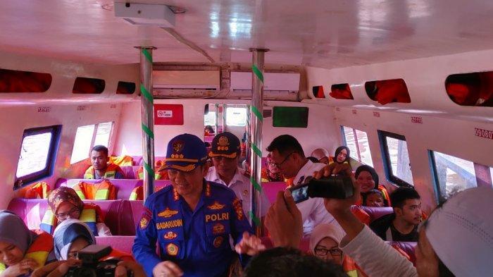 8 Unit Kapal Patroli Ditpolair Pantau Angkutan Lebaran 2019 di Perairan Riau Sekitar Selat Malaka