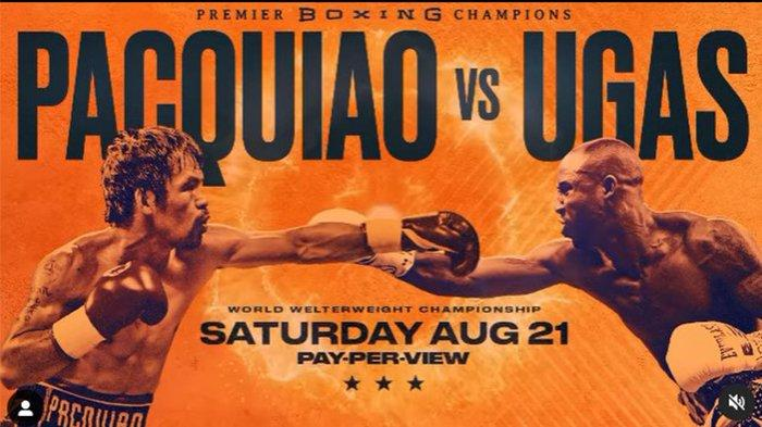 Tinju Dunia: Manny Pacquiao vs Yordenis,