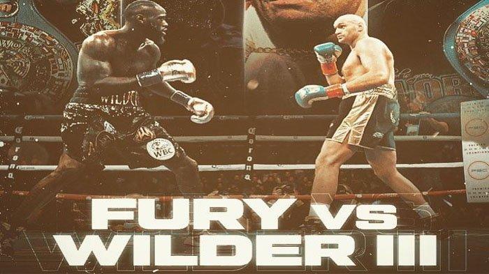 Hasil Tinju Hari Ini: Berlangsung Sengit, Fury Pukul KO Wilder hingga Terkapar