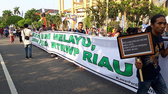 Rapat Pleno Ranperda RTRW Kabupaten Meranti di Kantor Gubernur Mendadak Dibatalkan, Ini Penyebabnya