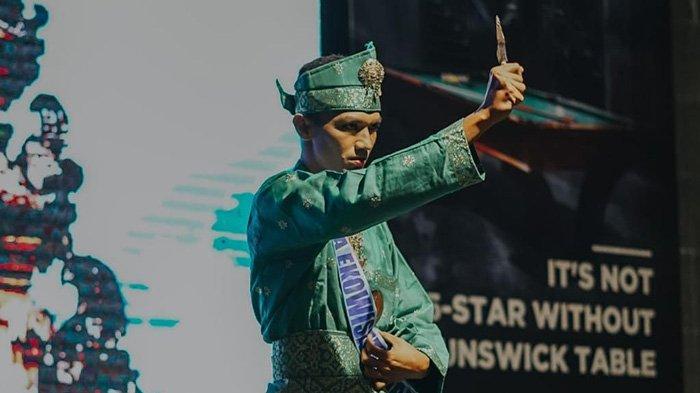 COWOK Ganteng Ini 5 Besar Putera Ekowisata,Asli dari Kampung di Siak
