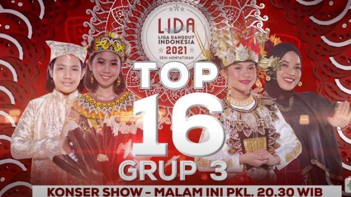 LIDA 2021 Malam Ini TOP 16 Grup 3, Adei, Evi, Rindi dan Sulis, Siapa yang Akan Tersenggol?
