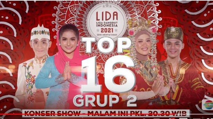 LIDA 2021 Malam Ini, Konser Show TOP 16 Grup 2, Ada Rio Sumbar, Faisal, Ratna dan Jihan, Ayo Vote
