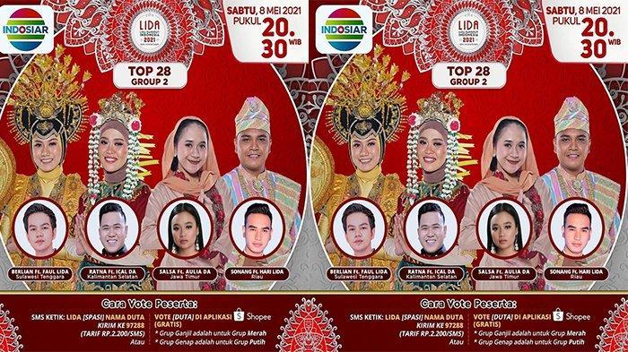 Malam Ini Sonang Wakil Riau Tampil di TOP 28 Grup 2 LIDA 2021, Duet dengan Hari LIDA