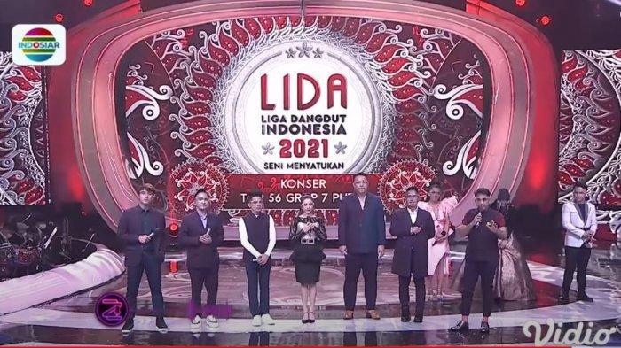 Liga Dangdut Indonesia 2021 memasuki Top 42 yang dibagi Grup 1-7 Merah dan Putih