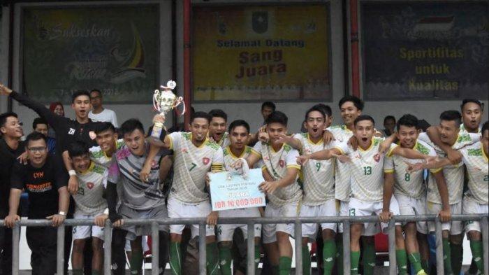 Menang Adu Penalti, Tornado FC Juara Liga 3 Zona Riau
