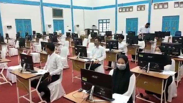 Positif Covid-19 Ada Satu Orang, Hari Ketiga Tes SKD CPNS Pelalawan 2021