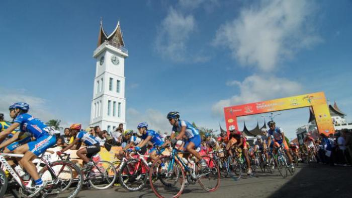 Panjang Rute Etape I Tour de Singkarak 140,5 Km, Lalui 13 Tempat di 4 Kabupaten Kota di Sumbar