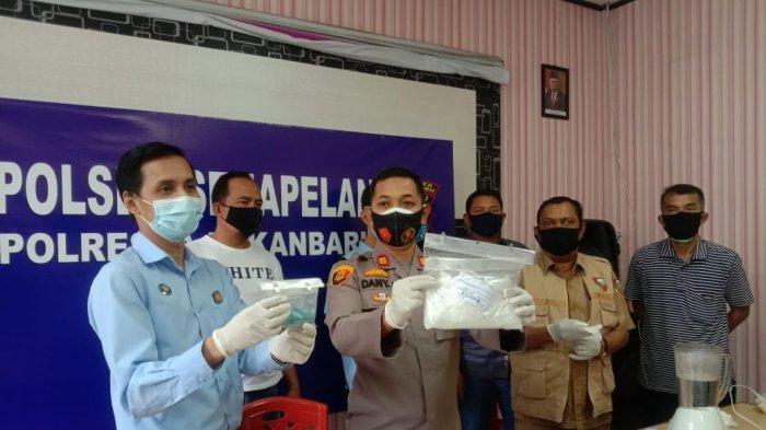 Transaksi 0,5 Kg Sabu dan 359 Inek di Dekat Sekolah, Polisi Sebut Dikendalikan Napi Lapas Pekanbaru