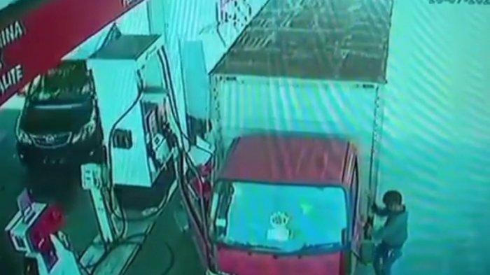 Uang Rp 20 Juta yang Akan Disetor ke Bos Raib, Setelah Lihat CCTV Ternyata Ini Pelakuknya