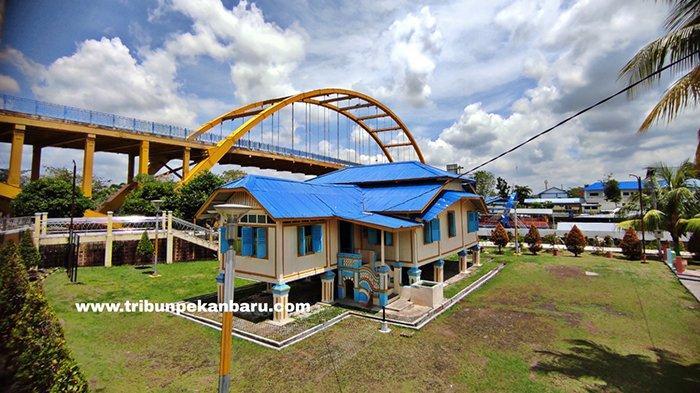 Foto : Situs Cagar Budaya Rumah Singgah Tuan Kadi di Pekanbaru