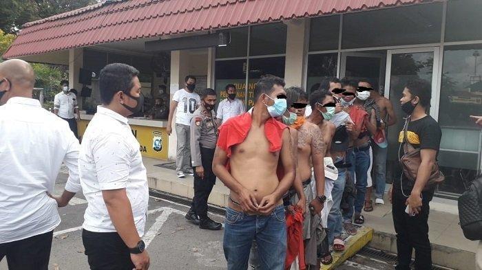 Mantan Narapidana dan Belasan Tukang Palak yang Beraksi di Pasar Raya Kota Padang Diamankan