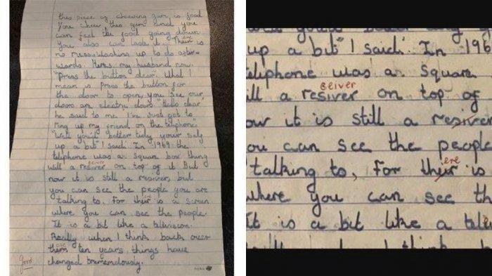 Nggak Nyangka, Tulisan Tangan Murid SD Tahun 1969 Tentang 2 Hal Ini Terbukti di Masa Sekarang