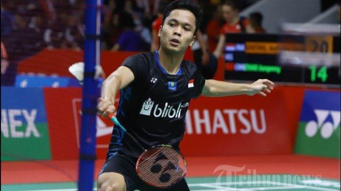 Jadwal Siaran Langsung Piala Sudirman 2021, Indonesia Vs ROC Minggu 26/9/2021 di Grup C Live TVRI