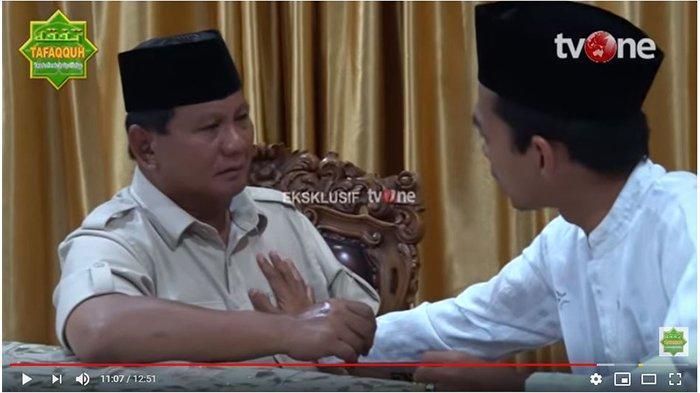 Benarkah Ustaz Abdul Somad Dipecat dari Dosen UIN Suska Riau Karena Bertemu Prabowo? Ini Kata Rektor