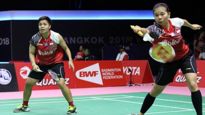 SIARAN LANGSUNG Perempat Final Sudirman Cup 2021 Indonesia vs Malaysia Mulai Pukul 20.00 WIB di TVRI