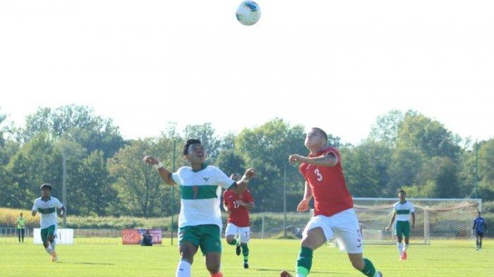 Siaran Langsung Timnas U19 Indonesia VS Kroasia di International U19 Friendly Tournament