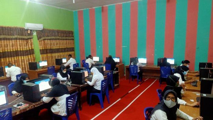 Seleksi PPPK di Pelalawan Berakhir, Seratusan Peserta Tak Hadir Selama 4 Hari Ujian