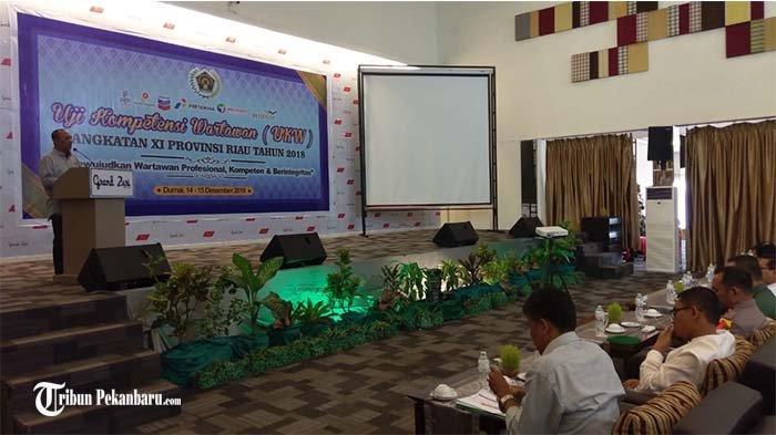 PWI Kota Dumai Selenggarakan Kegiatan Uji Kompetensi Wartawan untuk 56 Jurnalis