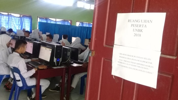 Komputer Alami Gangguan Jelang UNBK Tingkat Madrasah di Dumai
