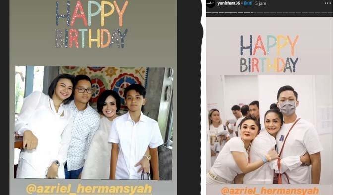 Yuni Shara Berkali-kali Ucapkan Ulang Tahun untuk Azriel, Krisdayanti Mengunggah Ini Diperbincangkan