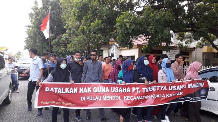 Tolak HGU PT TSUM di Kuala Kampar, Gemmpar akan Audiensi ke Bupati Harris