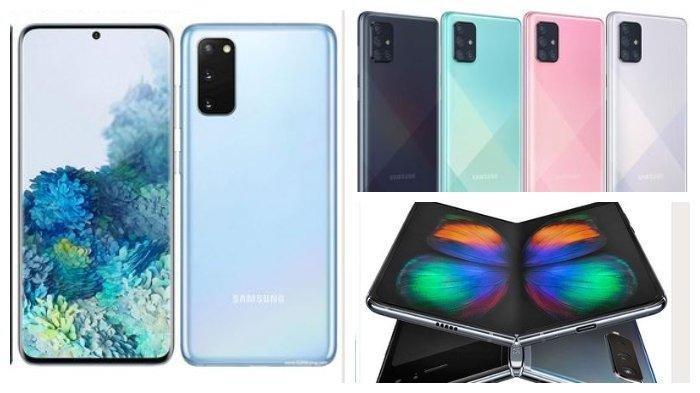 Daftar Harga HP Samsung Februari 2020, Mulai HP Harga 1 Jutaan hingga Rp 30 Jutaan, Cek di Sini