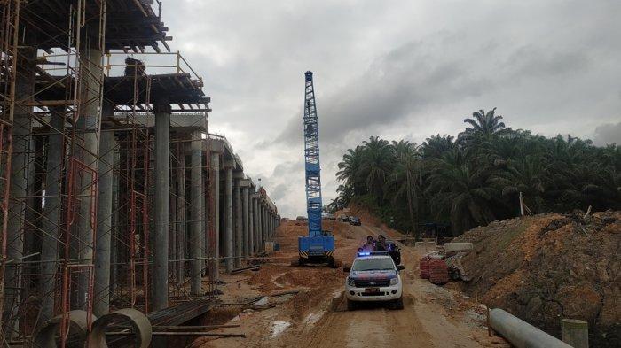 Pembangunan Tol Pekanbaru-Dumai Sudah 40 Persen, Target Desember 2019 Bisa Dilewati