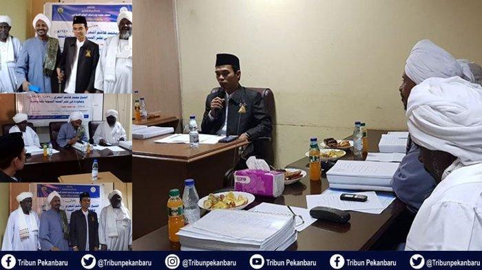 Ustadz Abdul Somad Raih Nilai Mumtaz, Lulus Sidang Promosi Doktor Oumdurman Islamic University Sudan