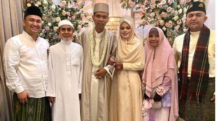 Kenal Istri Saat Tausiyah, UAS Menikah Tepat di Malam Nuzul Quran, Hadir Petinggi Pesantren Gontor