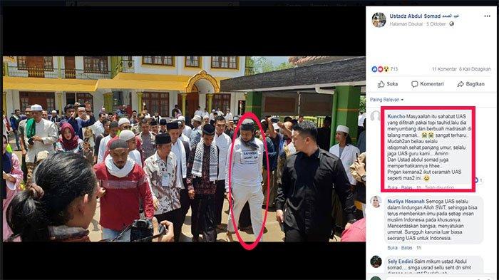 Sering Dampingi Ustaz Abdul Somad Ternyata Inilah Sosok Pria yang Bikin Penasaran Netizen