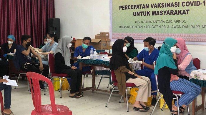 Vaksinasi Covid-19 Capai 98 Persen, Apindo-OJK Riau Kerjasama RAPP Kejar TargetHerd Immunity
