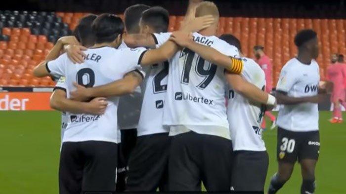 Valencia Kalahkan Real Madrid, Klasemen Liga Spanyol Berubah, LIVE BeinSport Mulai Pukul 22.15 WIB