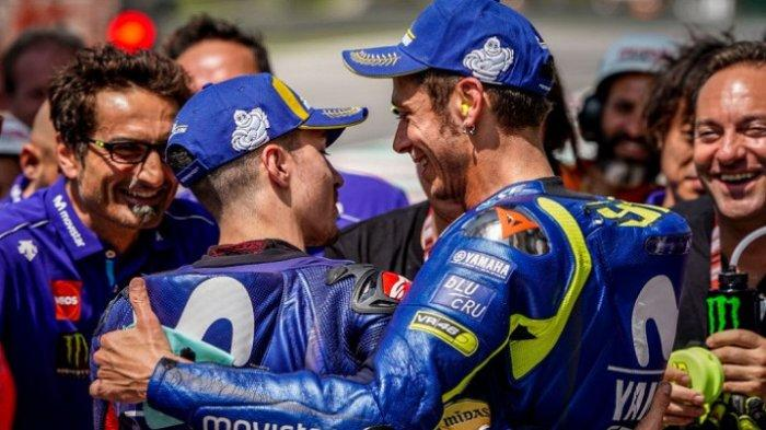 Valentino Rossi Keluar dari tim Yamaha di MotoGP? Ini Kata Direktur Monster Energy Yamaha