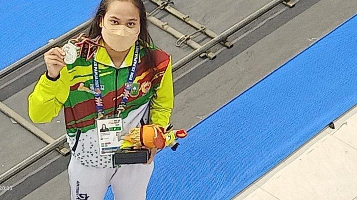 Vanessa Evato Tambah Medali Perak untuk Riau di PON Papua