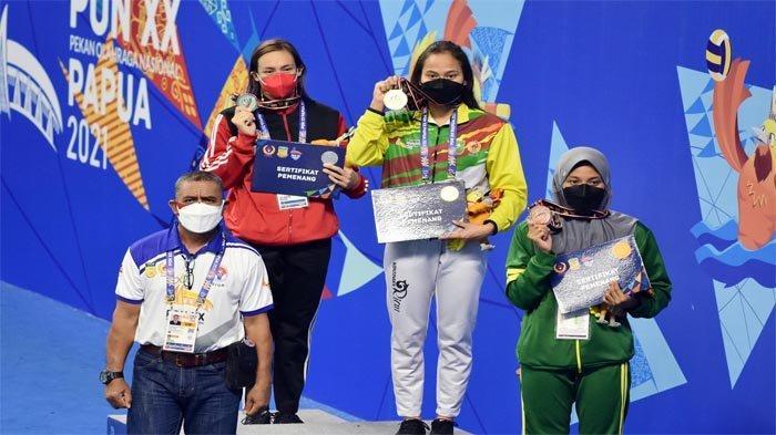 Emas Dari Vanessae Evato Tutup Perolehan Medali Emas Kontingen Riau, Total Jadi 21 Emas