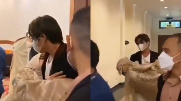 Viral Video Lesti Kejora Pingsan Usai Manggung, Rizky Billar Langsung Gendong Sang Istri