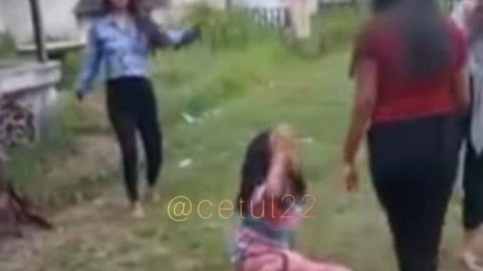 Viral Video Anak Perempuan Jadi Korban Perundungan, Rambutnya Dijambak, Menangis Tersedu-sedu