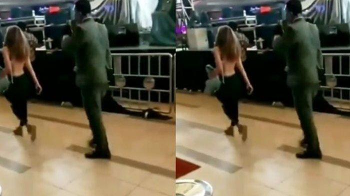 Video Wanita Telanjang di Mall, Dari Pakaian Lengkap Lalu Buka Baju, Warga Net: 'Mungkin Dia Gerah'