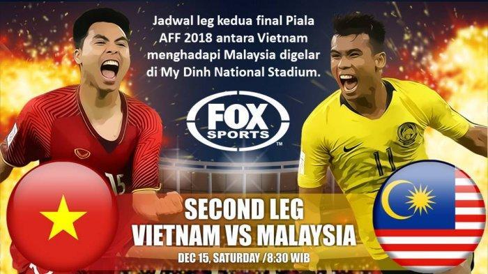 Hasil Score Vietnam Vs Malaysia Final AFF Suzuki Cup 2018, Sementara Masih 1-0 Babak Pertama