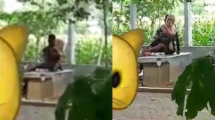 VIRAL VIDEO Pasangan Kekasih Berciuman & Berpelukan di Taman, Satpol PP Geram: Kami Akan Pasang CCTV