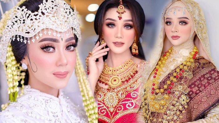Viral Tutorial MUA Cewek Bandung Dandani Model Mirip Syahrini dan Mulan Jameela hingga Preity Zinta