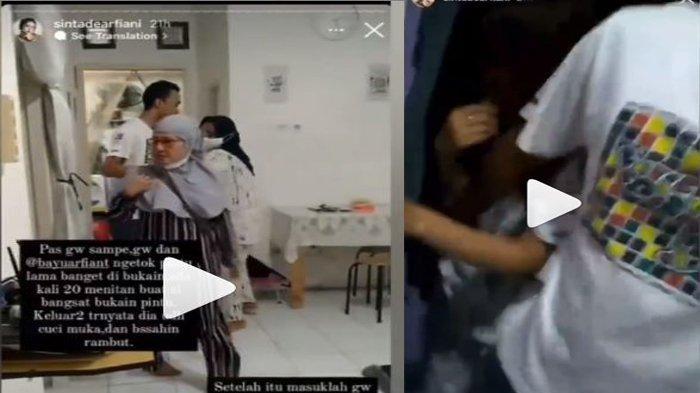 Viral Suami Digrebek Istri Berduaan Bersama Pramugari, Pelakor Disembunyiin di Kamar Belakang